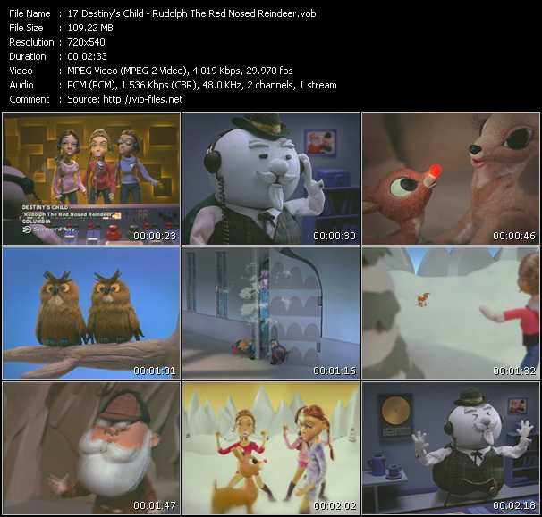 Destiny's Child - Rudolph The Red Nosed Reindeer