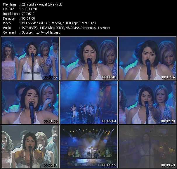 Yuridia - Angel (Live)