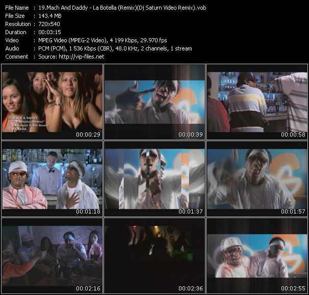 Mach And Daddy - La Botella (Remix) (Dj Saturn Video Remix)