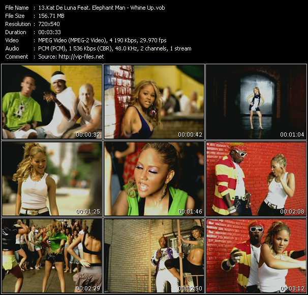 Kat DeLuna Feat. Elephant Man - Whine Up