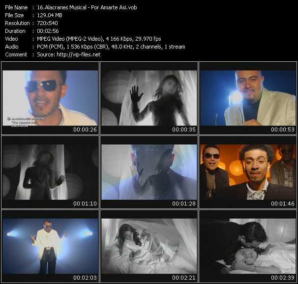 Alacranes Musical - Por Amarte Asi
