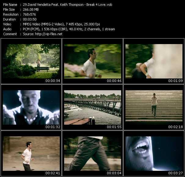 David Vendetta Feat. Keith Thompson - Break 4 Love