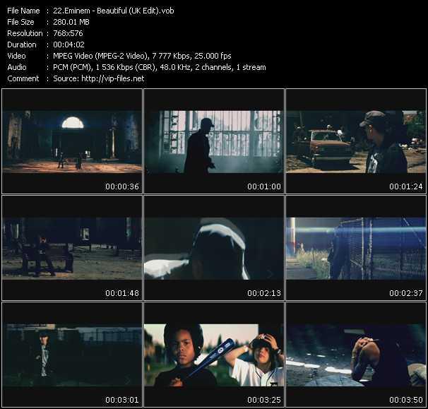 Eminem - Beautiful (UK Edit)