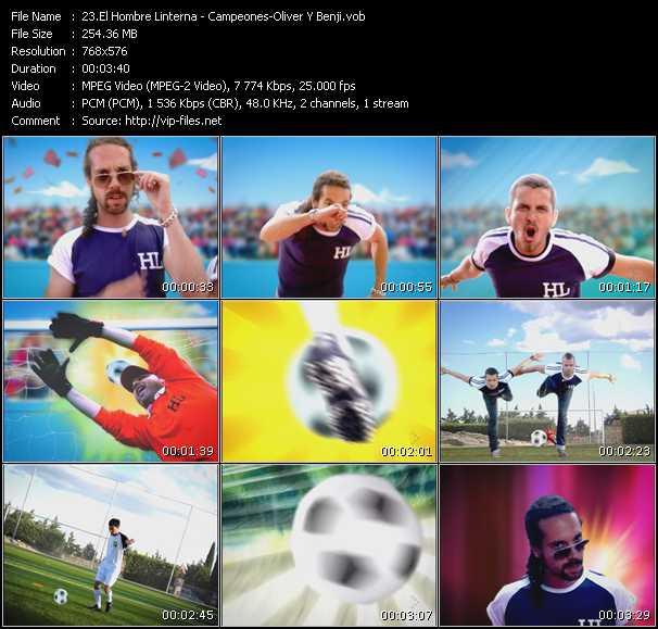 El Hombre Linterna - Campeones-Oliver Y Benji