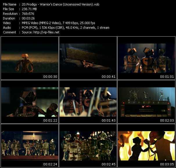 Prodigy - Warrior's Dance (Uncensored Version)