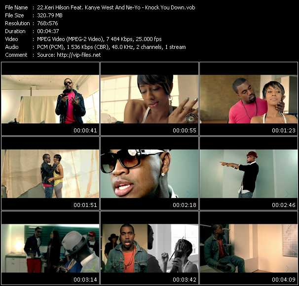 Keri Hilson Feat. Kanye West And Ne-Yo - Knock You Down