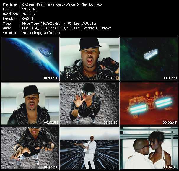 Dream Feat. Kanye West - Walkin' On The Moon