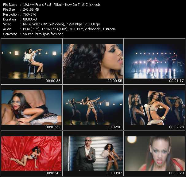 Livvi Franc Feat. Pitbull - Now I'm That Chick