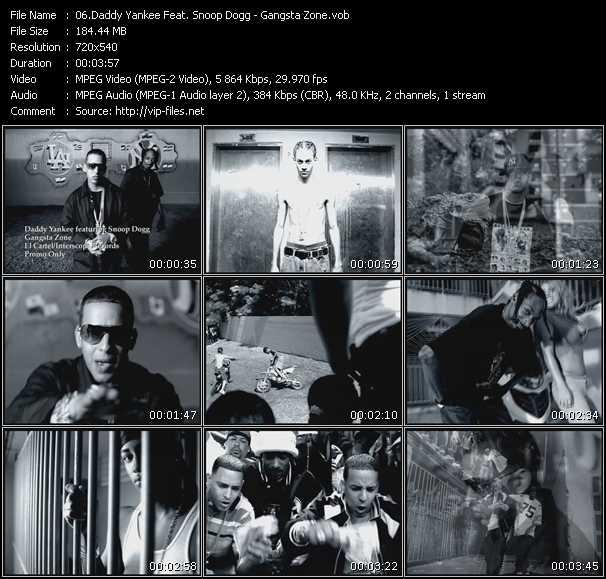Daddy Yankee Feat. Snoop Dogg - Gangsta Zone