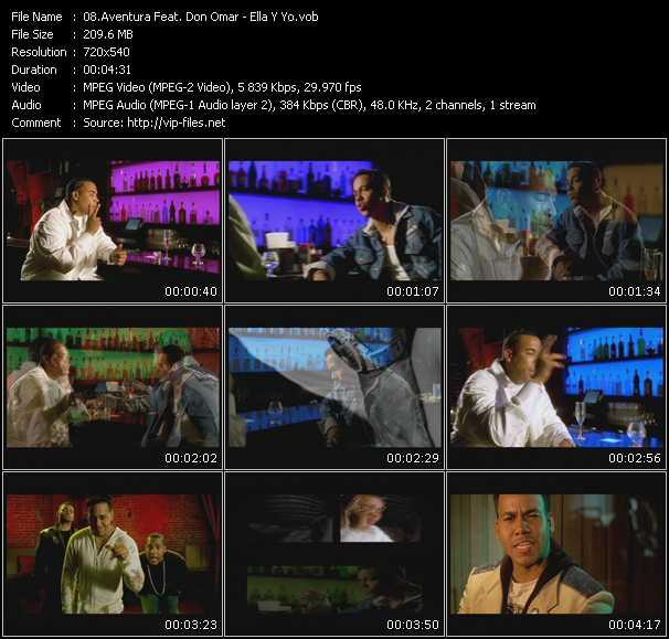 Aventura Feat. Don Omar - Ella Y Yo