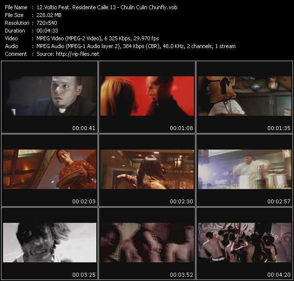 Voltio Feat. Residente Calle 13 - Chulin Culin Chunfly