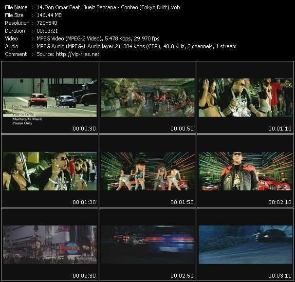 Don Omar Feat. Juelz Santana - Conteo (Tokyo Drift)