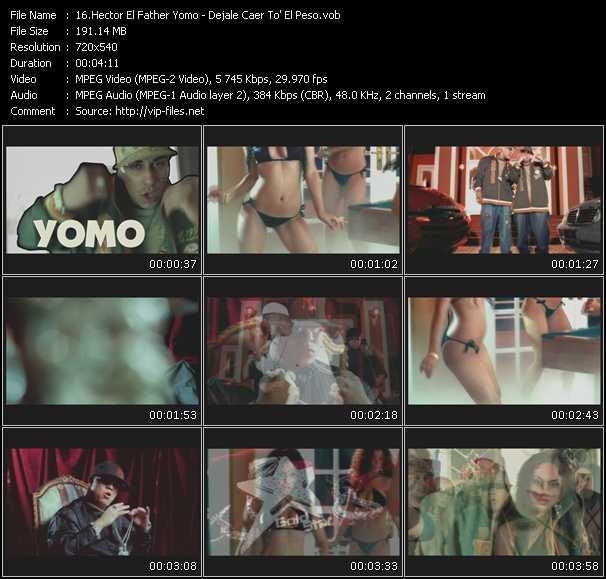 Hector El Father Feat. Yomo - Dejale Caer To' El Peso