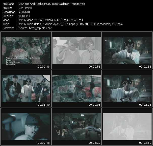 Yaga And Mackie Feat. Tego Calderon - Fuego