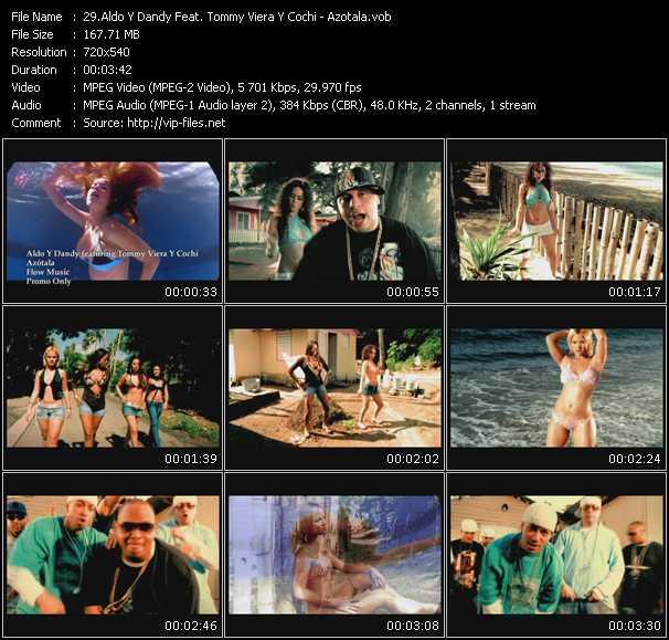 Aldo Y Dandy Feat. Tommy Viera Y Cochi - Azotala