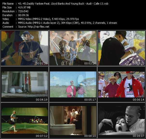 Daddy Yankee Feat. Lloyd Banks And Young Buck - Audi - Calle 13 - Rompe (Remix) - Vamo' Alla - Suave (DJ Blass Remix)