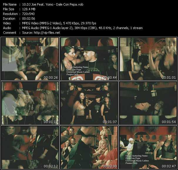 Dj Joe Feat. Yomo - Dale Con Pepa