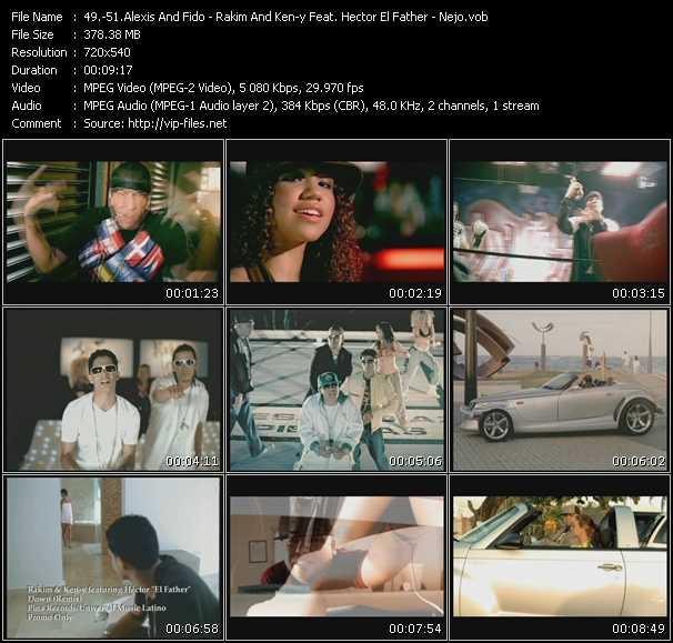 Alexis And Fido - Rakim And Ken-y Feat. Hector El Father - Nejo - Eso Ehh...!!! - Down (Remix) - No Quiere Novio