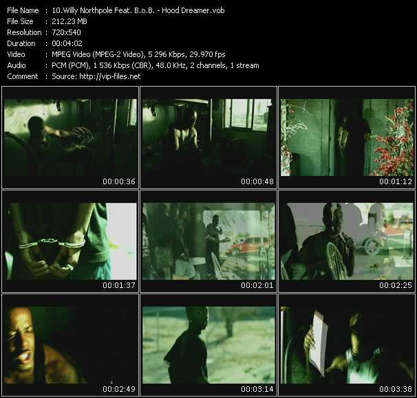 Willy Northpole Feat. B.O.B. - Hood Dreamer