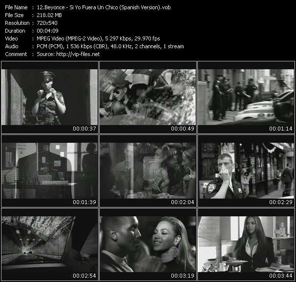 Beyonce - Si Yo Fuera Un Chico (Spanish Version)