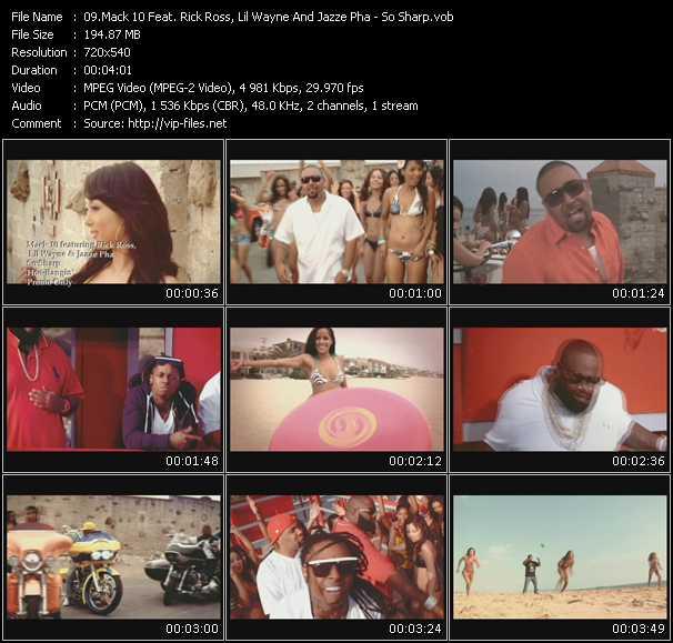 Mack 10 Feat. Rick Ross, Lil' Wayne And Jazze Pha - So Sharp
