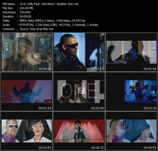 R. Kelly Feat. Keri Hilson - Number One