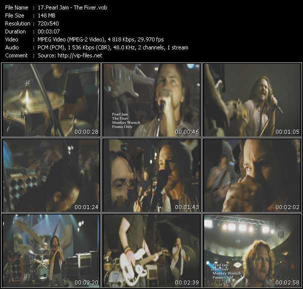 Pearl Jam - The Fixer