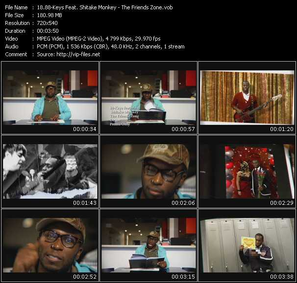 88-Keys Feat. Shitake Monkey - The Friends Zone