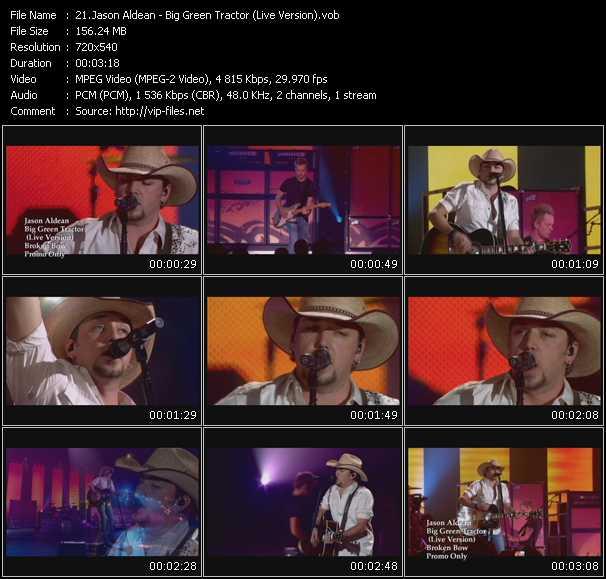 Jason Aldean - Big Green Tractor (Live Version)