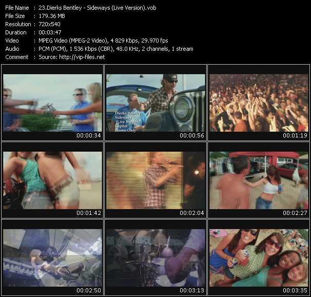 Dierks Bentley - Sideways (Live Version)