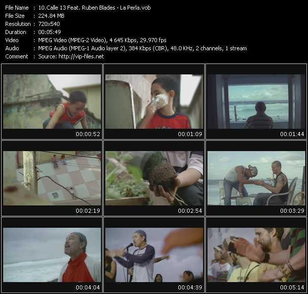 Calle 13 Feat. Ruben Blades - La Perla
