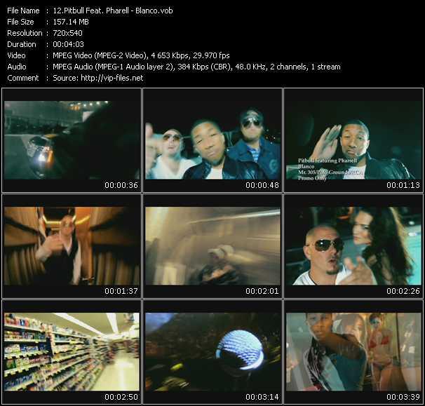 Pitbull Feat. Pharrell Williams - Blanco