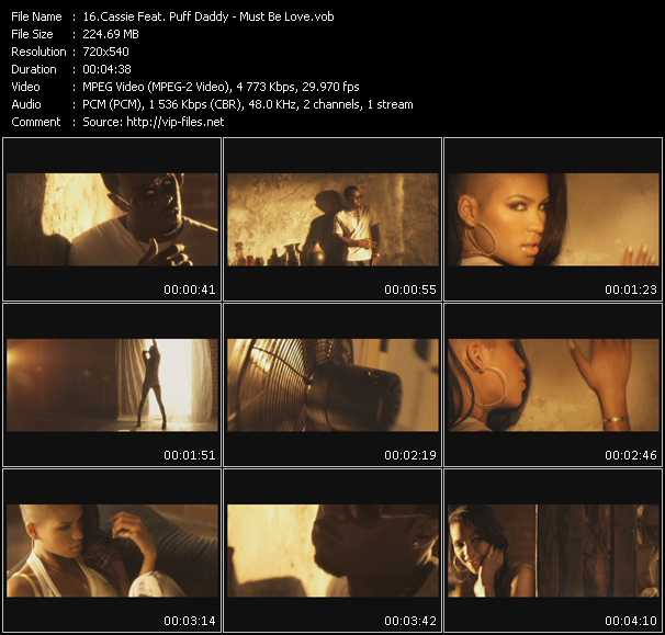 Cassie Feat. Puff Daddy (P. Diddy) - Must Be Love