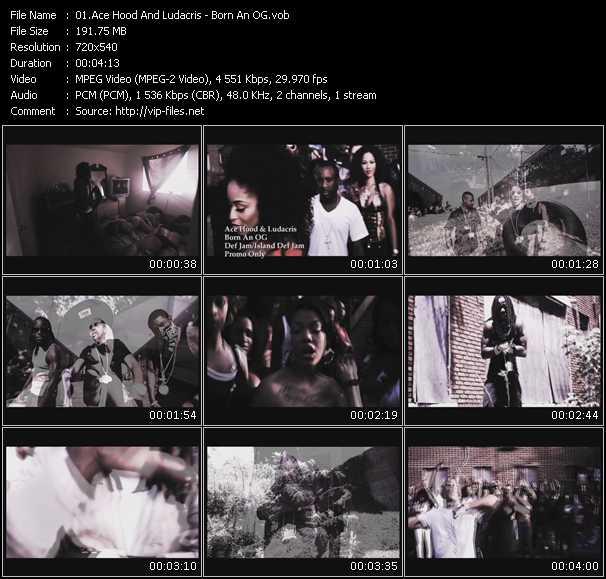 Ace Hood And Ludacris - Born An OG