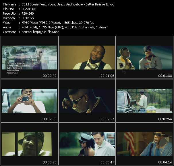Lil' Boosie Feat. Young Jeezy And Webbie - Better Believe It