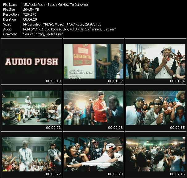 Audio Push - Teach Me How To Jerk