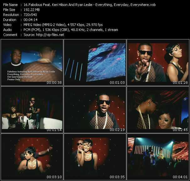 Fabolous Feat. Keri Hilson And Ryan Leslie - Everything, Everyday, Everywhere