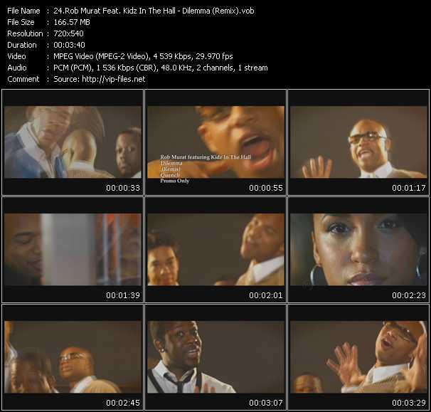 Rob Murat Feat. Kidz In The Hall - Dilemma (Remix)