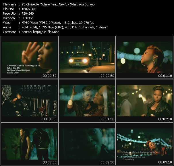 Chrisette Michele Feat. Ne-Yo - What You Do