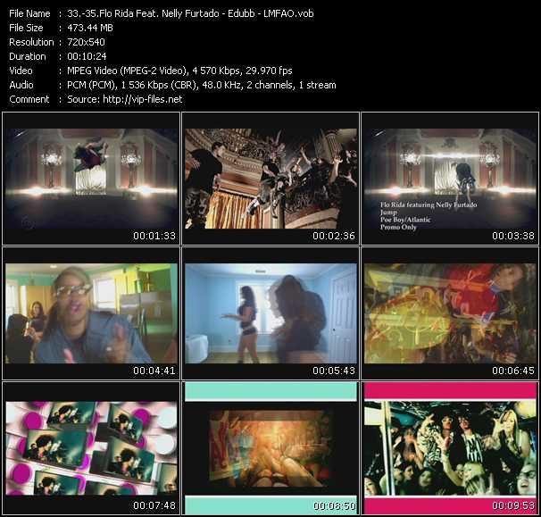 Flo Rida Feat. Nelly Furtado - Edubb - Lmfao - Jump - Whooty (White Girl With A Booty) - I'm In Miami Bitch