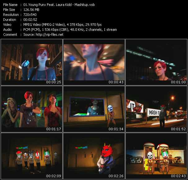 Young Punx Feat. Laura Kidd - Mashitup