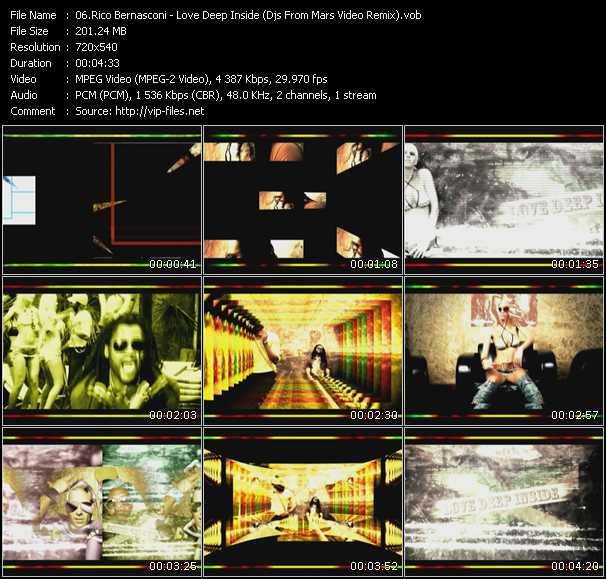 Rico Bernasconi - Love Deep Inside (Djs From Mars Video Remix)