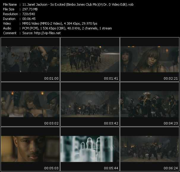 Janet Jackson - So Excited (Bimbo Jones Club Mix) (Vj Dr. D Video Edit)
