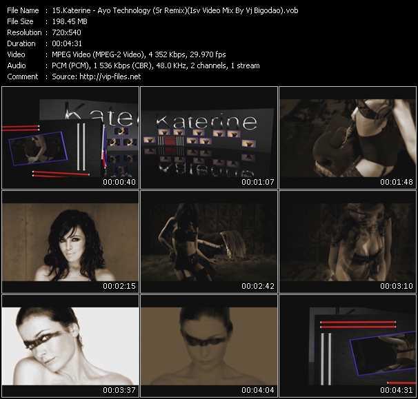 Katerine - Ayo Technology (Sr Remix) (Isv Video Mix By Vj Bigodao)