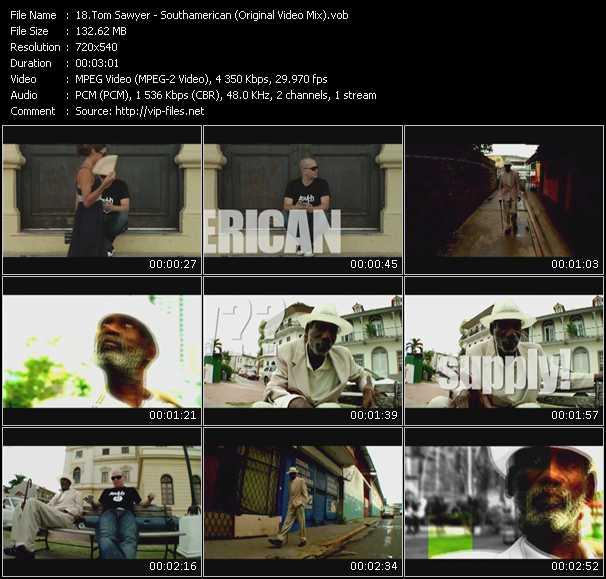 Tom Sawyer - Southamerican (Original Video Mix)