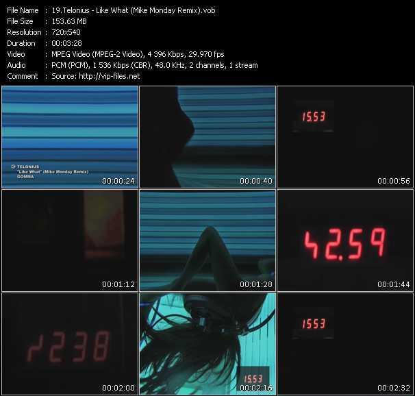 Telonius - Like What (Mike Monday Remix)