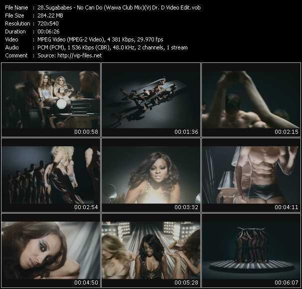 Sugababes - No Can Do (Wawa Club Mix) (Vj Dr. D Video Edit)