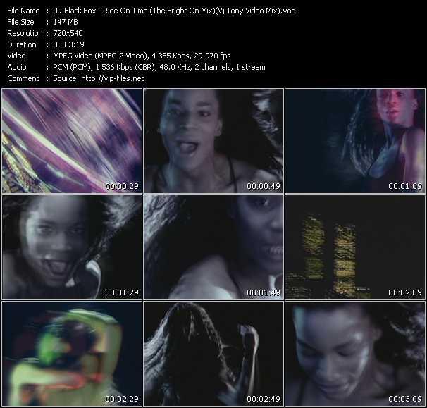 Black Box - Ride On Time (The Bright On Mix) (Vj Tony Video Mix)