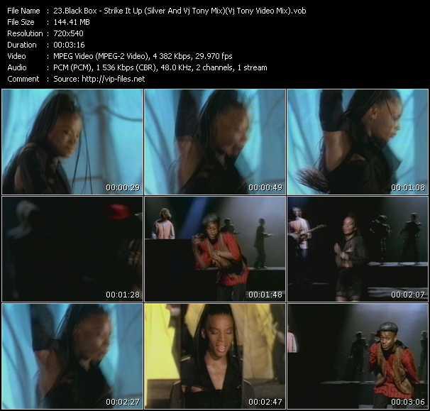 Black Box - Strike It Up (Silver And Vj Tony Mix) (Vj Tony Video Mix)