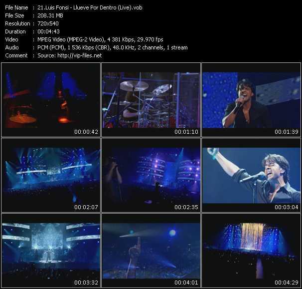 Luis Fonsi - Llueve Por Dentro (Live)